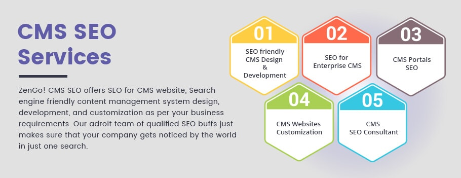 SEO Friendly CMS Website design