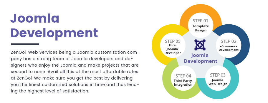 Joomla Template for Web Development Company